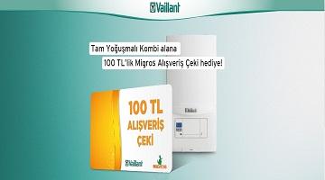 100 TL' lik Migros Alışveriş Çeki Hediye!