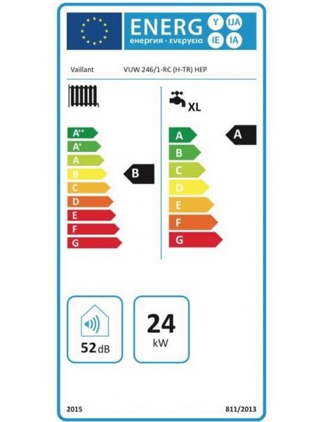 Vaillant Ecofit Start 246 (20.000 Kcal) Yoğuşmalı Kombi * Yeni model yüksek verimli pompalı (HEP) *